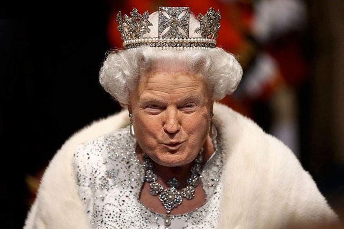 funny-donald-trump-queen-elizabeth-photohop-trumpqueen-5-584a760689639__700