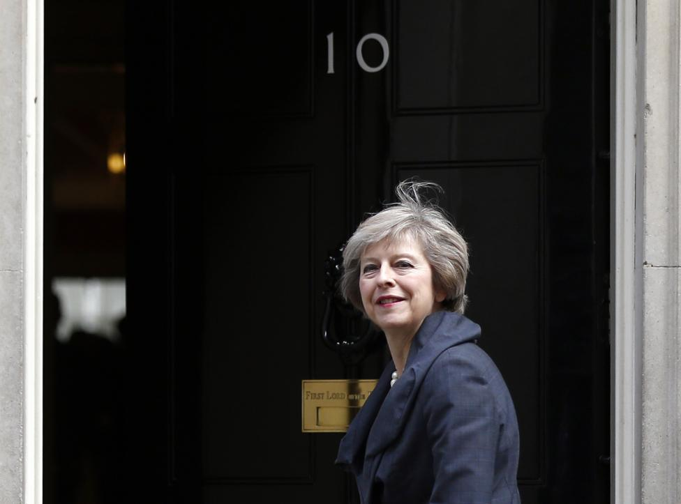 13: Britain's Prime Minister Theresa May. REUTERS/Neil Hall