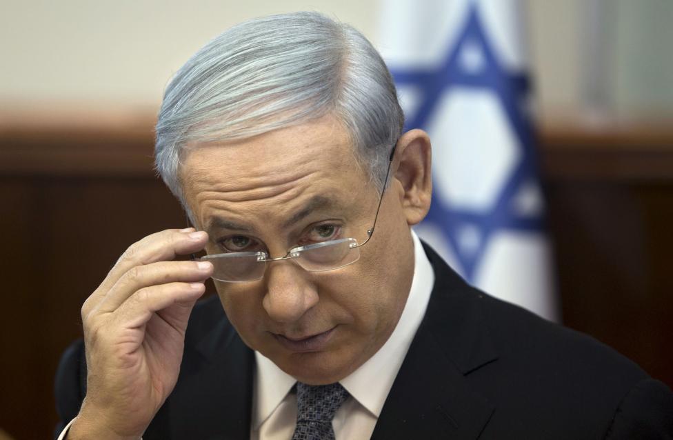 20: Israel's Prime Minister Benjamin Netanyahu.  REUTERS/Sebastian Scheiner/Pool