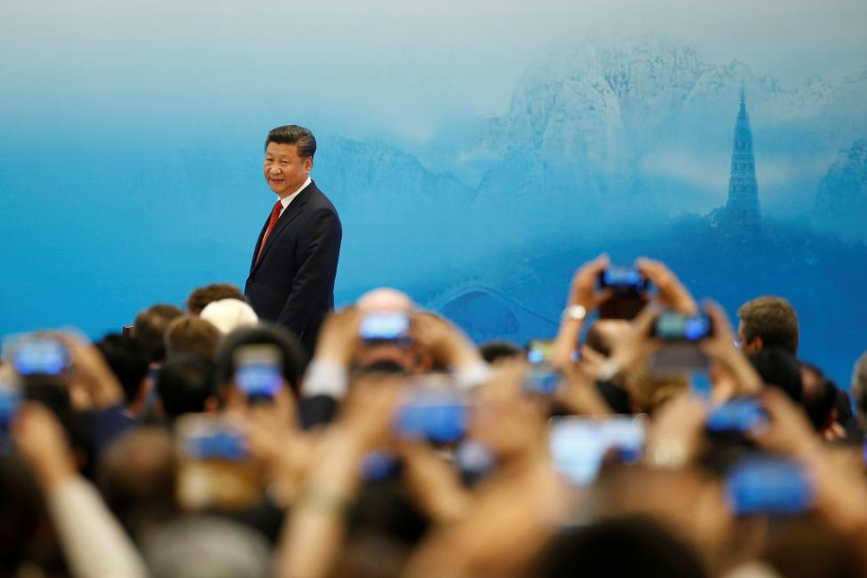 4: China's President Xi Jinping. REUTERS/Aly Song