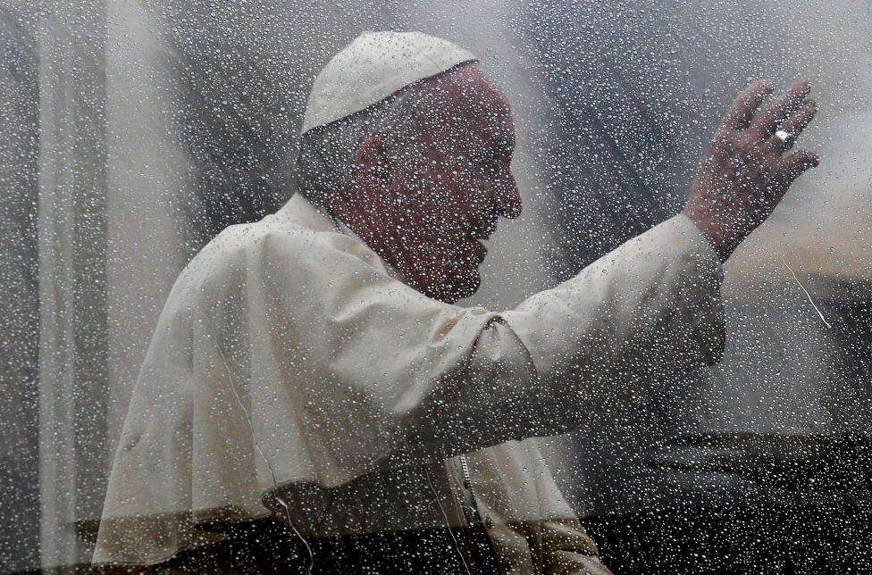 5: Pope Francis. REUTERS/Max Rossi