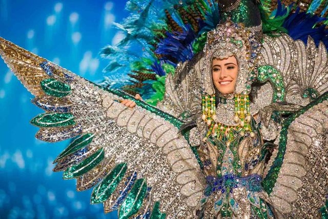 Marina Jacoby, Miss Nicaragua 2016 debuts her National Costume on stage at the Mall of Asia Arena on Thursday, January 26, 2017.  The contestants have been touring, filming, rehearsing and preparing to compete for the Miss Universe crown in the Philippines.  Tune in to the FOX telecast at 7:00 PM ET live/PT tape-delayed on Sunday, January 29, live from the Philippines to see who will become Miss Universe. HO/The Miss Universe Organization
