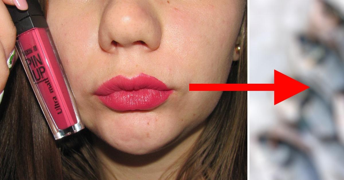 Как сделать блеск губ в фотошоп