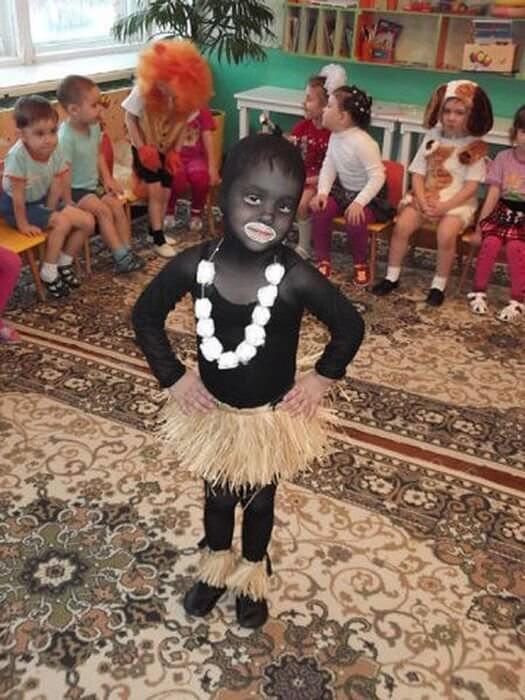 Как сделать костюм аборигена