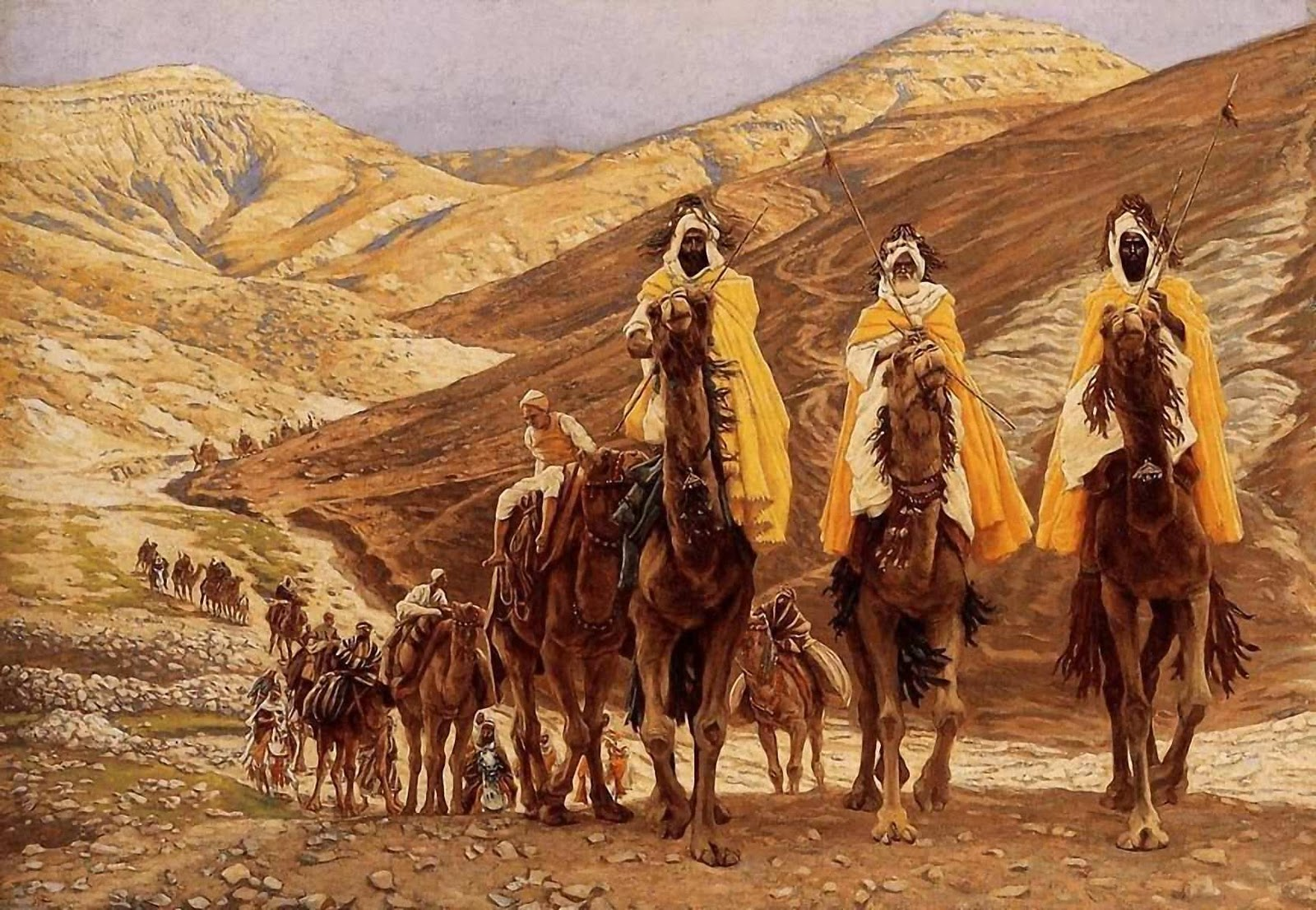 The-Journey-of-the-Magi-1894-James-Jacques-Joseph-Tissot-french-1836-1902